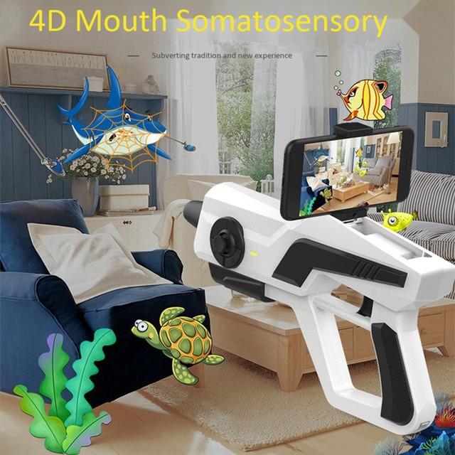 AR Bluetooth Toy Gun Game Controller Smartphone Virtual Reality Somatosensory Games Mobile Phone Shooting Gameing Gamepad Rocker 3