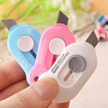 Stationery Paper-Cutter Letter-Opener Utility-Knife School-Supplies Office Mini Portable