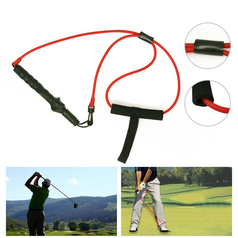 Golf Swing Trainer Beginner Gesture Alignment Training Aid Golf Strength Trainer Swing Practice Stick Trainging Aids Drop Ship