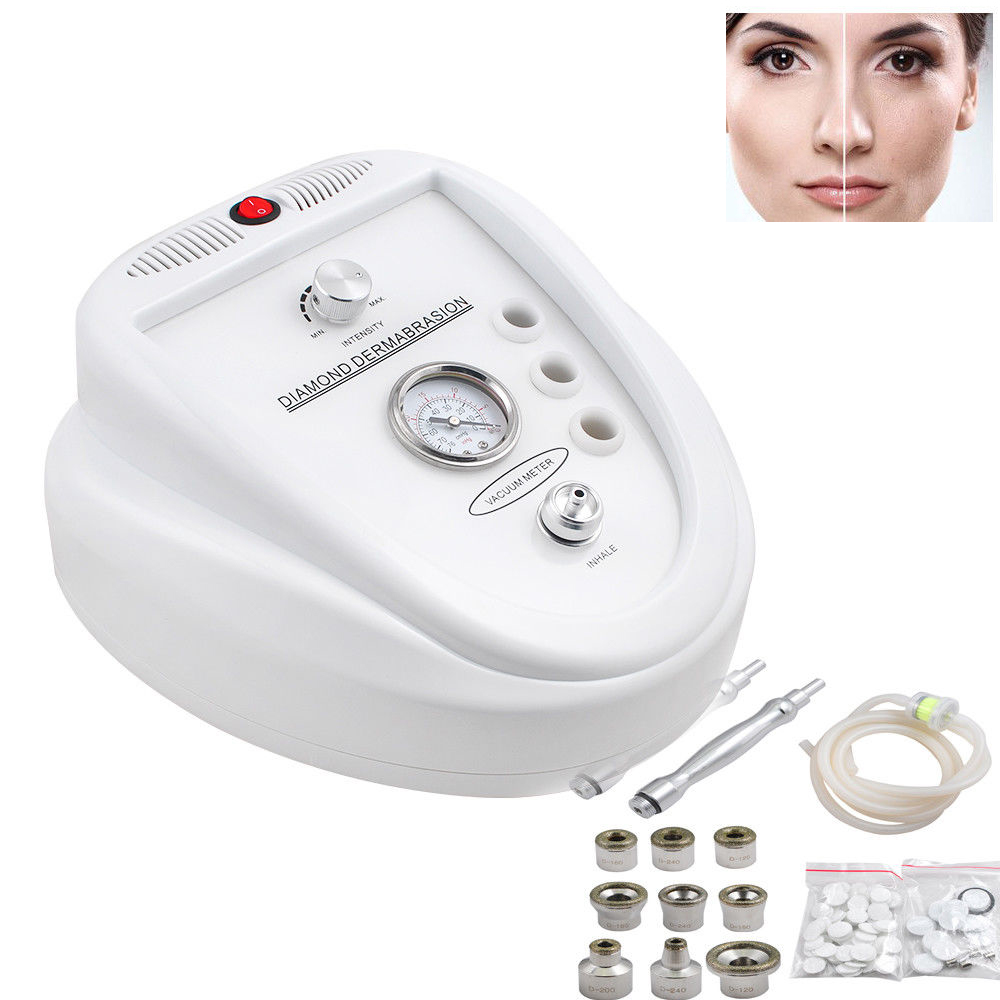 Beauty Diamond Dermabrasion Pro Microdermabrasion Skin Health Care Machine Acne Pimple Vacuum Blackhead Removal Suction Tool