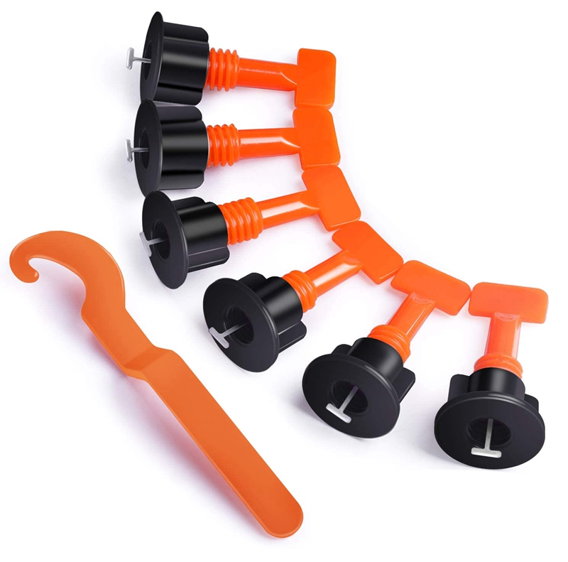 500PcsTile Leveling Clips Tile Leveling System Kit ,100Pcs Tile Leveler Spacers, Wrenches ,Tile Installation Tool Kit