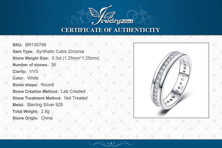 Hc81ed22c07e941da93ea530d11742b18g JewelryPalace CZ Wedding Rings 925 Sterling Silver Rings for Women Stackable Anniversary Ring Eternity Band Silver 925 Jewelry