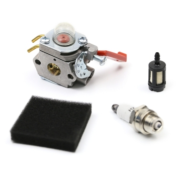 Carburetor Kit for Homelite UT-20749 UT-20758 UT-20769 UT-20785 UT-20778 UT-20760 Air Fuel Filter Spark Plug
