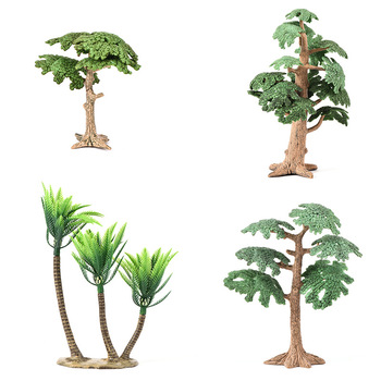 Landscape Tree Simulation Pine Cypress Small Decoration Ecological Landscaping Props Fake