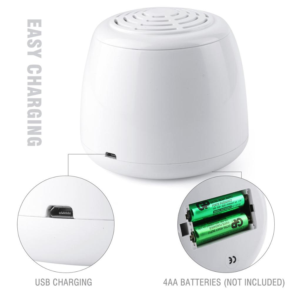 Air Purifier Home Portable Mini Air Cleaner Anion Ionizer Negative Ion Generator USB Cable & Battery Dual Power Ozone Generator