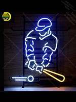 Neon Sign for Baseball Sport Man Pub game room Real Glass Basketball Team Sign Lighting Tube Neon Shop sports neon signs Board