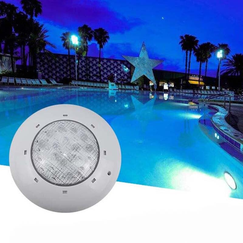 Led piscina luz 12V 24W 36W Smd Led blanco frío impermeable piscina luz exterior subacuática pared piscina blanca fiesta impermeable Li - 2