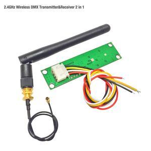 Image 5 - קידום!!! חנויות מפעל 5 יח\חבילה אלחוטי DMX 512 בקר משדר ומקלט 2 ב 1 PCB מודול עבור DMX שלב הדלקת