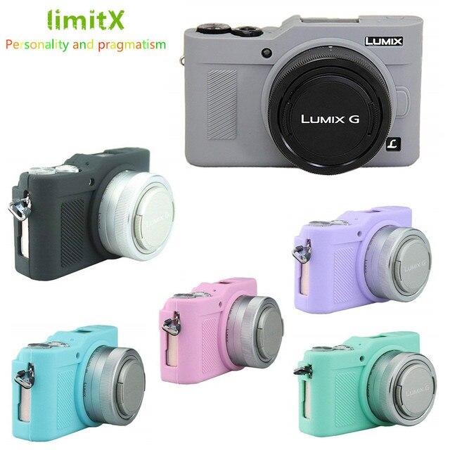 Silikonowy pancerz futerał na aparat ciała obudowa ochronna dla Panasonic Lumix GF9 GF10 GF90 GX800 GX850 GX900 GX950 kamery