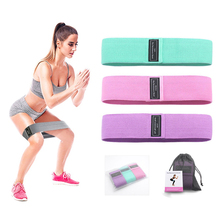 Fitness Booty Resistance Bands Workout Fabric Loop Band Butt Exercise Bands For Hip Legs Thigh Glutes Non-Slip Deep Squat Bands