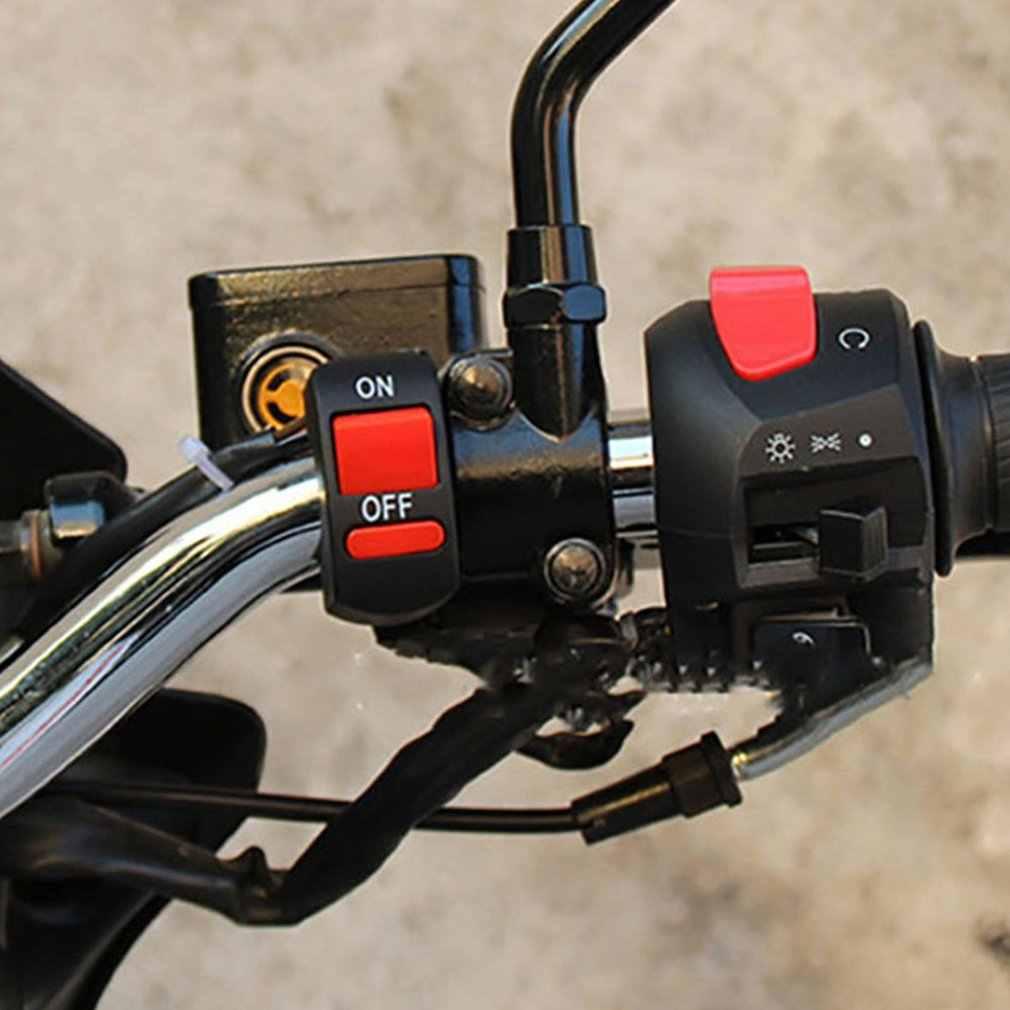 Nouveau interrupteur électrique universel pour moto | Démarreur électrique tout-terrain, guidon, démarrage et démarrage électrique Durable, démarrage électrique Durable