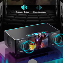Портативный bluetooth динамик hifi беспроводной стерео аудио