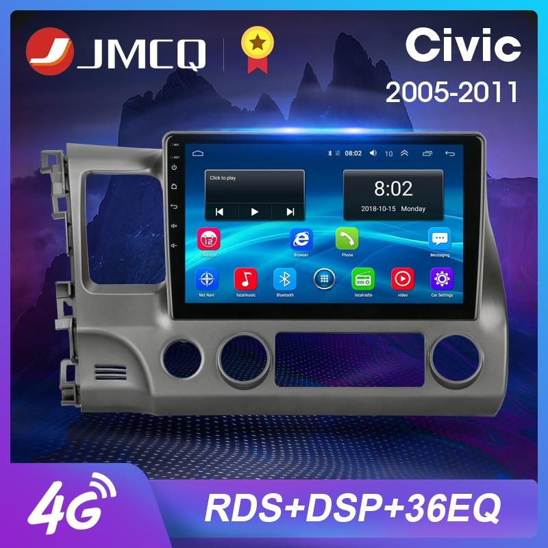 JMCQ 2G+32G 10.1Inch 2Din Android 8.1 Car Radio Multimedia Video Player For Honda Civic 2006-2011 Navigation GPS 2 din Head Unit