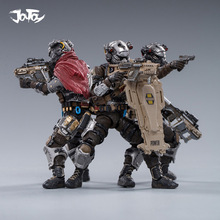 Military Soldier Figure Skeleton JOYTOY 1/18 Model-Toys SKULL Force HELL Fifth 3pcs/Set