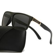 Óculos de sol masculino polarizado, óculos de sol clássico masculino polarizado, vintage uv400