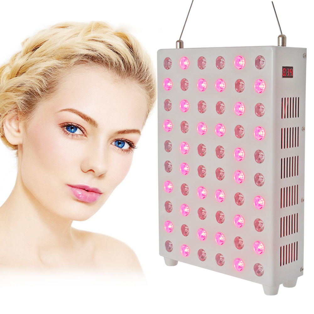 RTL85 Red Light Therapy Panel 850nm 660nm With Timer Remote Control Infrared Panel Treatment