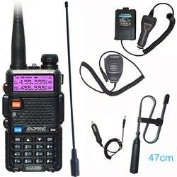 Hot Pofung Uv 5r Draagbare Radio Baofeng UV5R Twee Manier Radio Walkie-Talkie 5W Vhf Uhf Dual Band communicatie Apparatuur