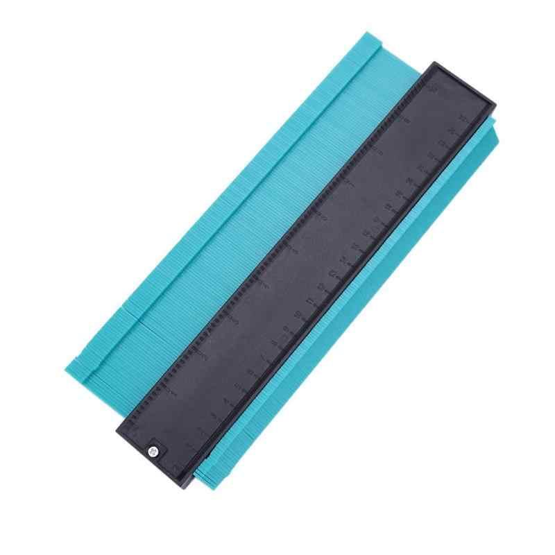 5/6/10 インチプラスチックプロファイルコピーゲージ輪郭ゲージ複写機標準木マーキングツールタイルラミネートタイル一般的なツール