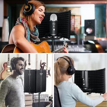 Paneles acusticos microfonos