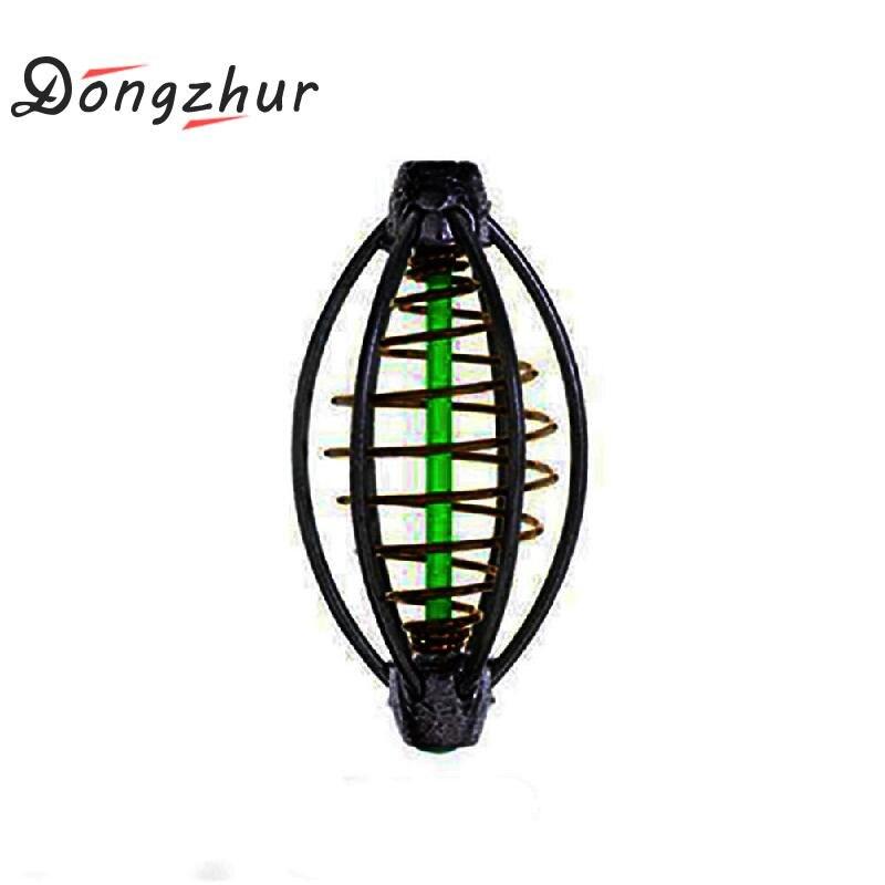 Dongzhur 6 Wire Method Carp Fishing Feeder Swim Feeders Dropship Sinker Lead 5cm/6cm/7cm ZXC8636 With G2I3