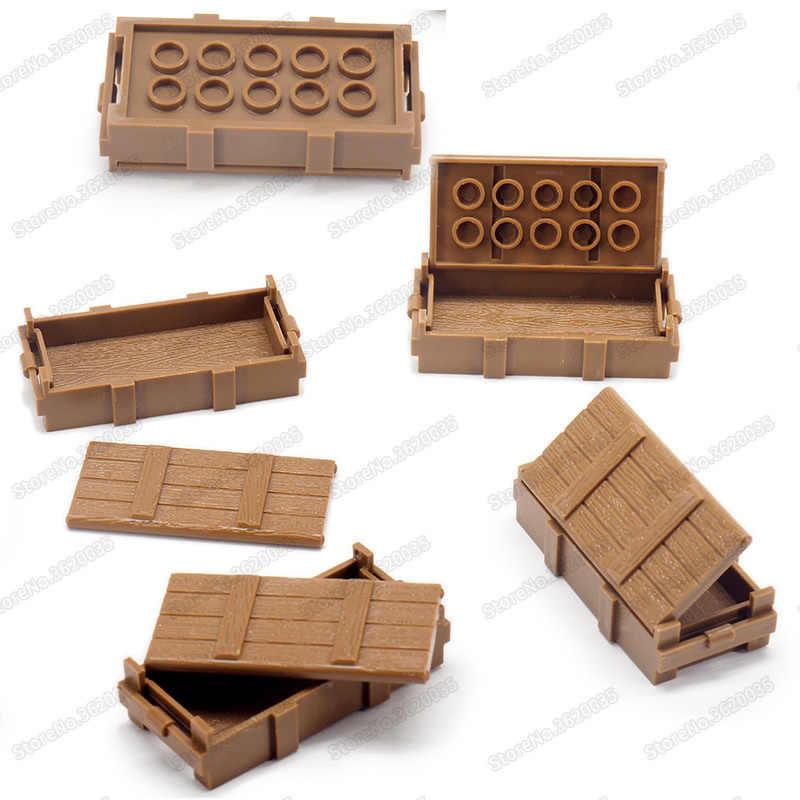 Legoinglys soldado figuras caixa material militar guerra mundial 2 armas caixa exército forças especiais série moc criança presente de natal brinquedo