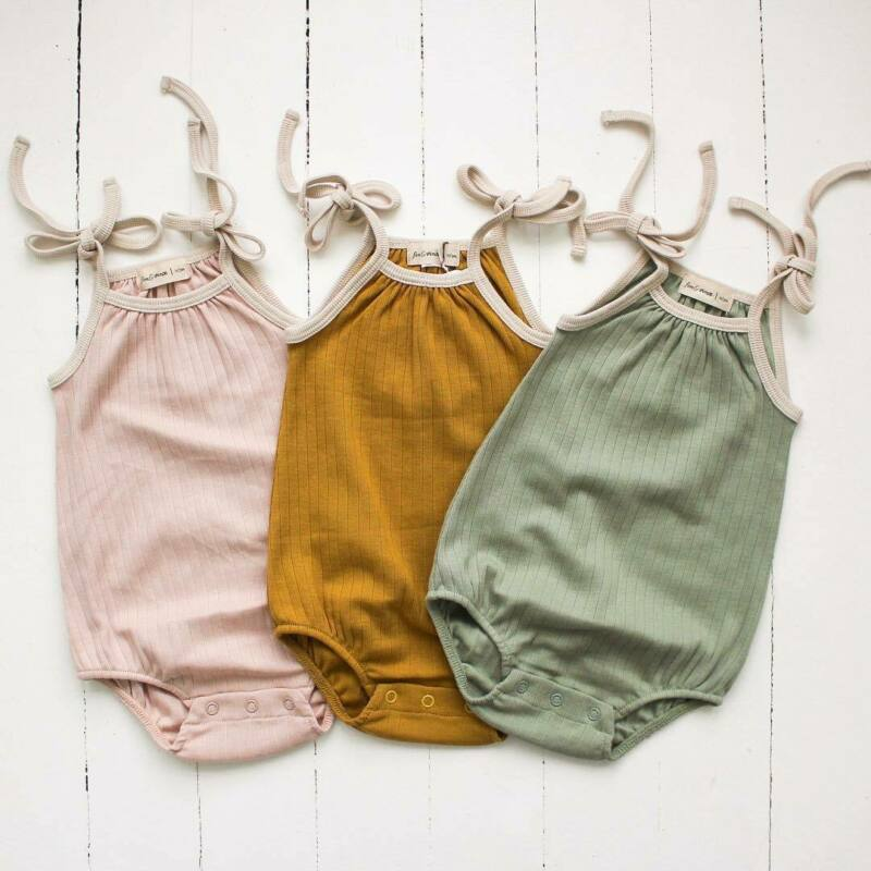 2020 Baby Summer Clothing Sweet Toddler Baby Girl Kid Clothes Sling Romper Jumpsuit Sunsuit Outfit Tops