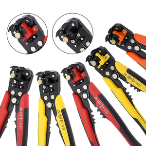 HS-D1 Crimper Cable Cutter Automatic Wire Stripper Multi Stripping Tools Crimping Pliers Terminal 0.2-6.0mm2 HS-D2 repair tools