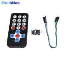 1Set Infrarot Fernbedienung Modul Drahtlose IR Empfänger Modul DIY Kit HX1838 für Arduino Raspberry Pi