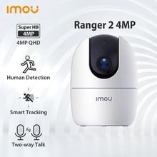 Dahua Imou Ranger 2 4MP IP Camera 360 Rotate Human Detection Night Vision Security Surveillance Wifi Baby Monitoring