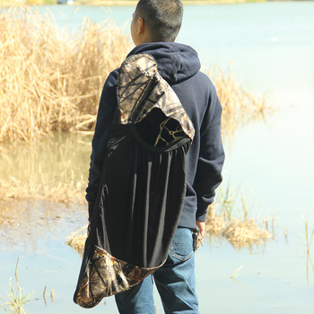 Crossbow Bag Camouflage Nylon Bow Storage for Hunting Shooting Archery Backpack Compound Case Accessories