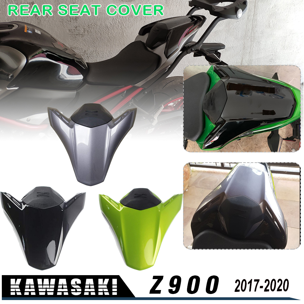 Plastic Rear Pillion Seat Cowl Fairing Motorcycle Seat Fairing Cover Tail Cowl Seat Cover Fits for Kawasaki 2017-2020 Z900 Z 900