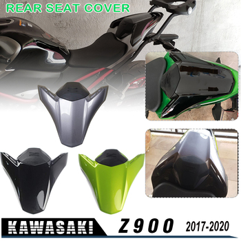 Plastic Rear Pillion Seat Cowl Fairing Motorcycle Seat Fairing Cover Tail Cowl Seat Cover Fits for Kawasaki 2017-2020 Z900 Z 900 motorcycle rubber gripper soft seat cover for kawasaki kx85 kx100 01 02 03 04 05 06 07 08 09 10 11 12 13 14 15 16 2001 2016