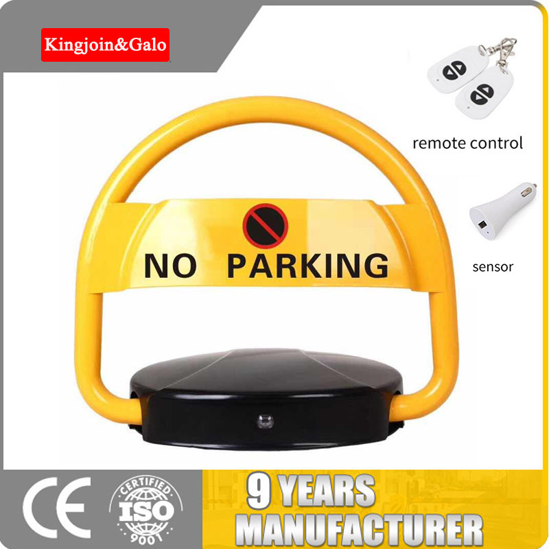 Anti-Theft Waterproof Crashworthy Pressure-Proof Remote Contorl Auto-Induction Intelligent Smart Car Parking Lock For VIP Cws