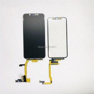 Image 5 - Черный сенсорный экран с удлинителем, гибкий кабель без пайки для iPhone X Xsmax 11pro Max, запасные части