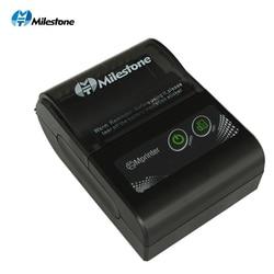 Milestone Portable Thermal Printer Bluetooth receipt bill 58mm 2 inch Mini pos Wireless Windows Android IOS mobile Pocket print