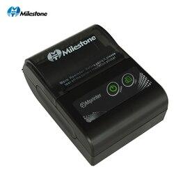 Tonggak Portable Thermal Printer Bluetooth Menerima Bill 58 Mm 2 Inci Mini Pos Nirkabel Windows Android IOS Ponsel Saku Print