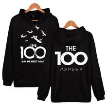 The 100 3D Print Hoodie Sweatshirts Men Women Fashion Casual Cool Pullover 2020 TV Series Harajuku Streetwear Oversized Hoodies