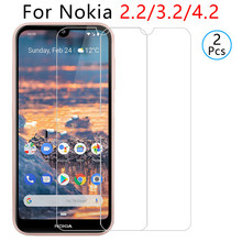 Tempered-Glass Screen-Protector Nokia4.2 Phone for Safety Tremp 9h 2pcs