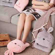 Slippers Chair-Warmer Heating-Pad Warm-Feet USB Winter Sofa