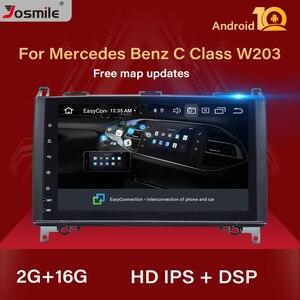 IPS DSP Android 10 автомобильный мультимедиа для Mercedes Benz B200 Sprinter W906 W639 AB Class W169 W245 Viano Vito радио GPS Navi 2 Гб