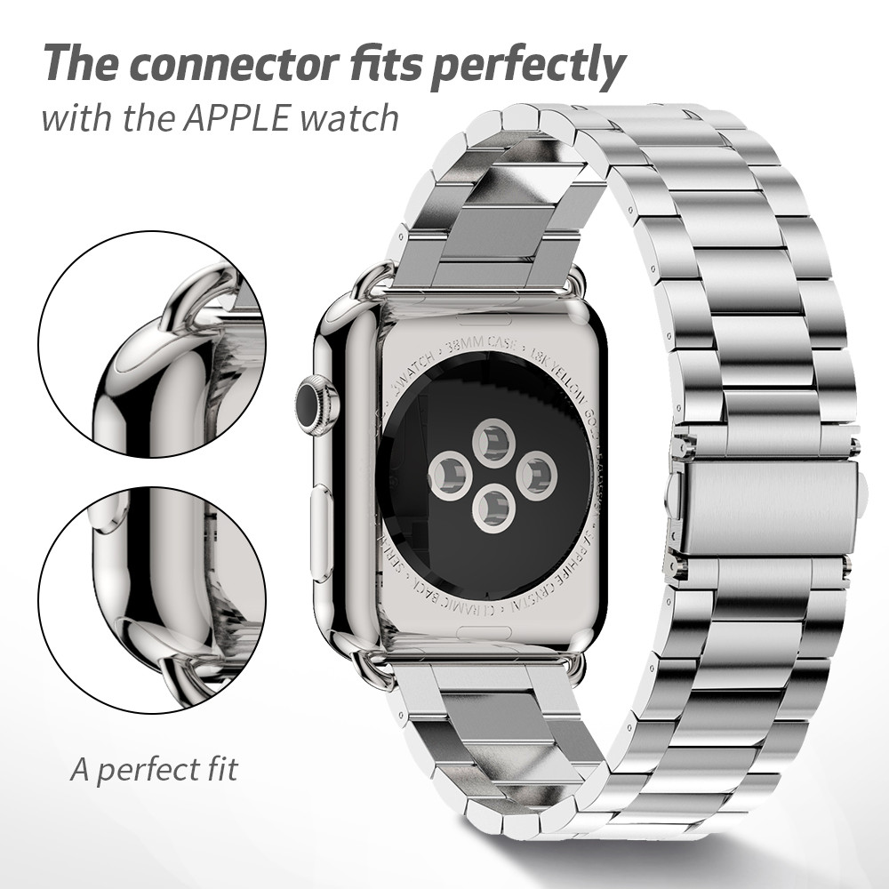 Ultimate SaleStainless-Steel-Strap Watch-Band Metal Apple 44mm for 38mm 42mm 40mm 2-1 4-5