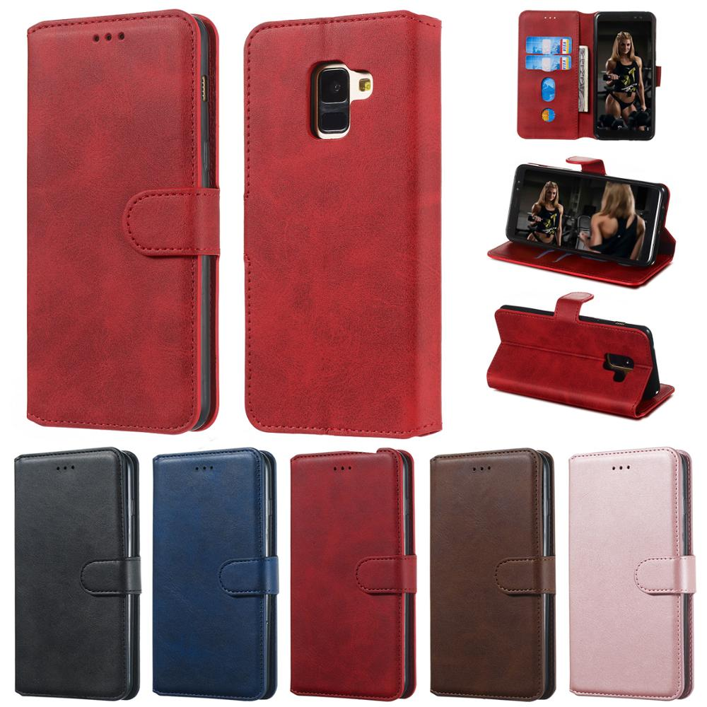 чехол J7Prime Flip Wallet Leather Case For Samsung Galaxy S11 Plus A10S A20S A5 A6 A7 A8 2018 J3 J5 J7 2017 2016 Casing Cover image