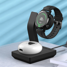 15W Wireless Smart watch Charging Dock Stand for Huawei GT 2 Honor GSPro Magic2 earphone 2 in 1 Charger