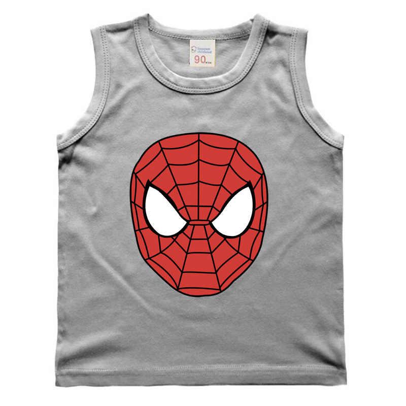 NUOVI Bambini T-Shirt per I Ragazzi Magliette Avenger Bambini Delle Ragazze Dei Ragazzi Iron Man supereroe Spiderman Batman Delle Magliette Delle Ragazze Dei Ragazzi del fumetto di estate