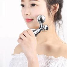 JYTOP 3D Roller Massager Thin Face Massage Relaxation 360 Degree Rotation Full Body Facial Wrinkle Remover Face Lift Tool beauty tool massager v face roller massage face lift ball spa massage tightness skin facial wrinkle remover chin body leg slim
