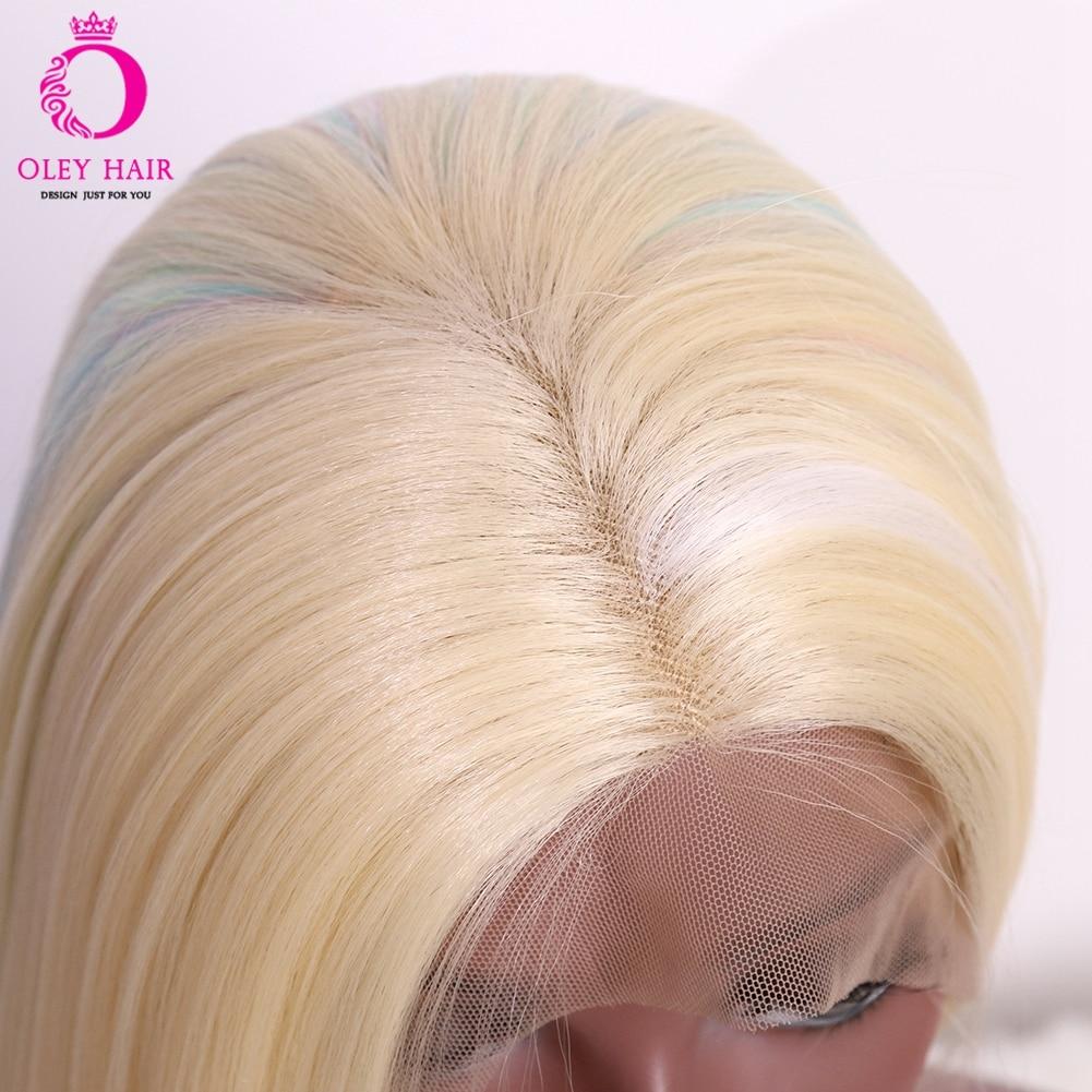 Oley mix cor 22-26 peruca frontal de