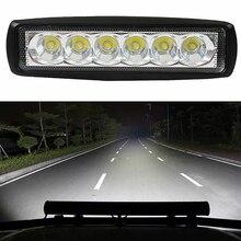 1 шт. 18 Вт DRL Светодиодный прожектор рабочий свет 6000k светодиодный рабочий свет 4WD UTE внедорожник Грузовик