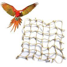 Parrot Bold Rope Climbing Net Bird Bite Toy Adventure Super Network