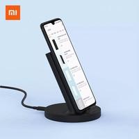 Xiaomi dikey kablosuz şarj evrensel hızlı şarj 20W yatay şarj 20W MAX kablosuz flaş şarj MI logosu