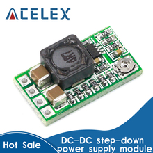 10PCS Mini DC-DC 12-24V To 5V 3A Step Down Power Supply Module Buck Converter Adjustable Efficiency 97.5%